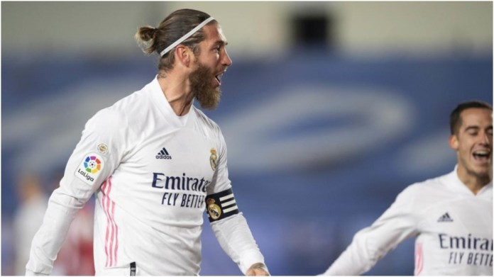 Lojtari i Real Madrid Sergio Ramos.
