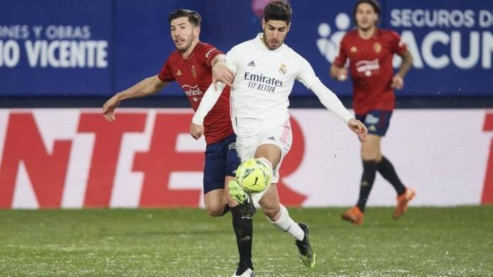 Marco Asensio kundër Osasuna