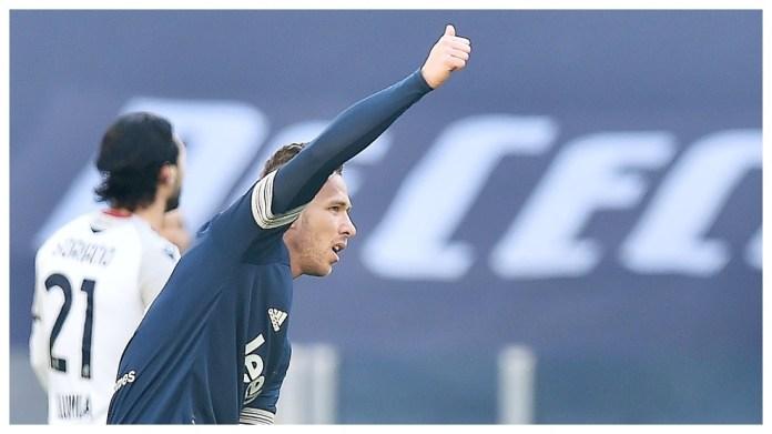 Arthur Melo feston golin e tij ndaj Bolonjës