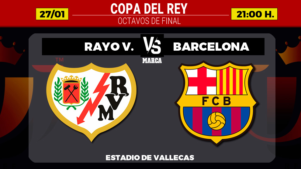 Memphis depay missed a penalty as barcelona lost at rayo vallecano to increase the pressure on ronald koeman. Rayo Vallecano Vs Barcelona Rayo Vallecano Vs Barcelona Messi Returns In The Copa Del Rey Marca