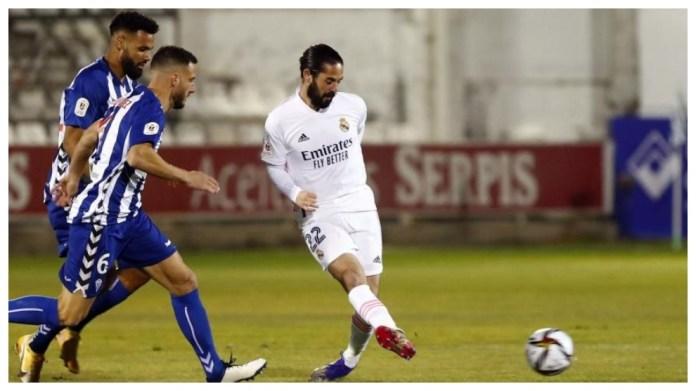 Isco në ndeshjen kundër Alcoyano