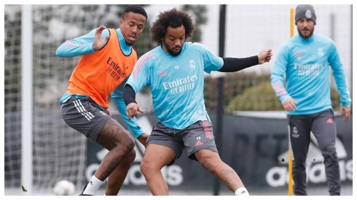 Marcelo dhe Militao në stërvitje