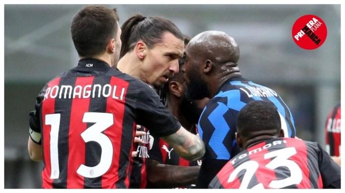 Ibrahimovic dhe Lukaku u përleshën në takimin e fundit Milan-Inter