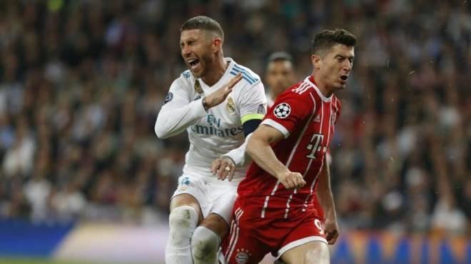 Sergio Ramos në një ndeshje kundër Bayern Munchen