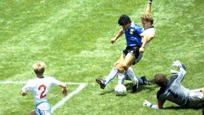 Goli i Maradona ndaj Anglisë, siç nuk e keni parë kurrë më parë