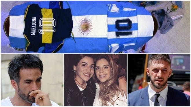 Leopoldo Luque, bijat e Maradona dhe avokatit Matias Morla.