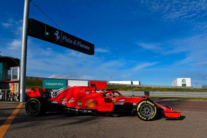 FERRARI F1 TEST FIORANO - MERCOLEDI 27/01/2021 credit: @Scuderia Ferrari Press Office lt;HIT gt;Carlos lt;/HIT gt; lt;HIT gt;Sainz lt;/HIT gt;, en su debut con Ferrari en Fiorano Firma: Scuderia Ferrari