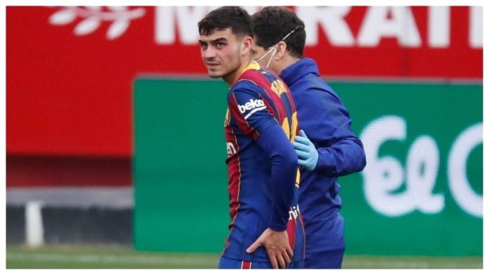 Pedri është i dëmtuar kundër Sevilla