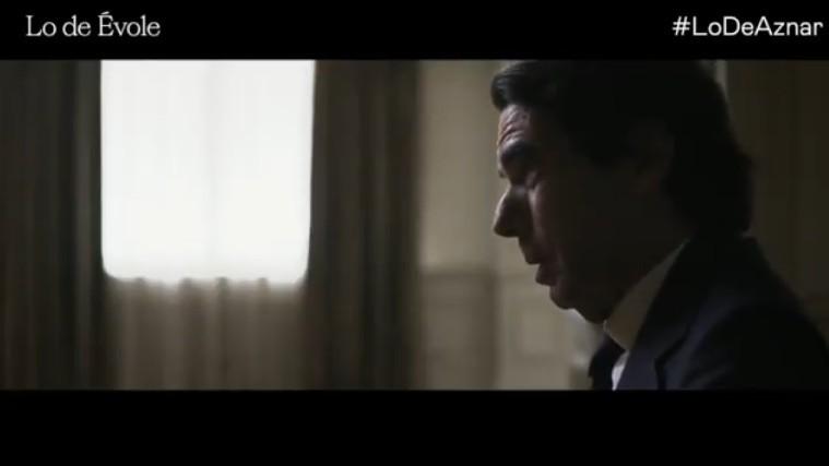 José María Aznar en el prgorama de entrevistas 'Lo de Évole' de La...