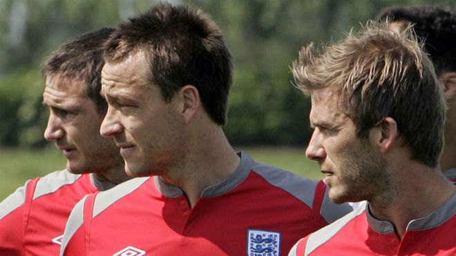 Lampard, Terry and Beckham