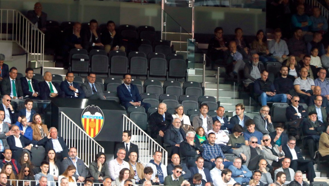 February 29, 2020 was the last game with the public in Mestalla.