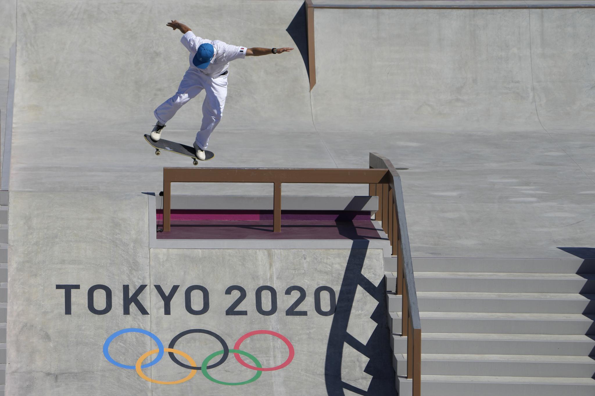 El skateboard franc