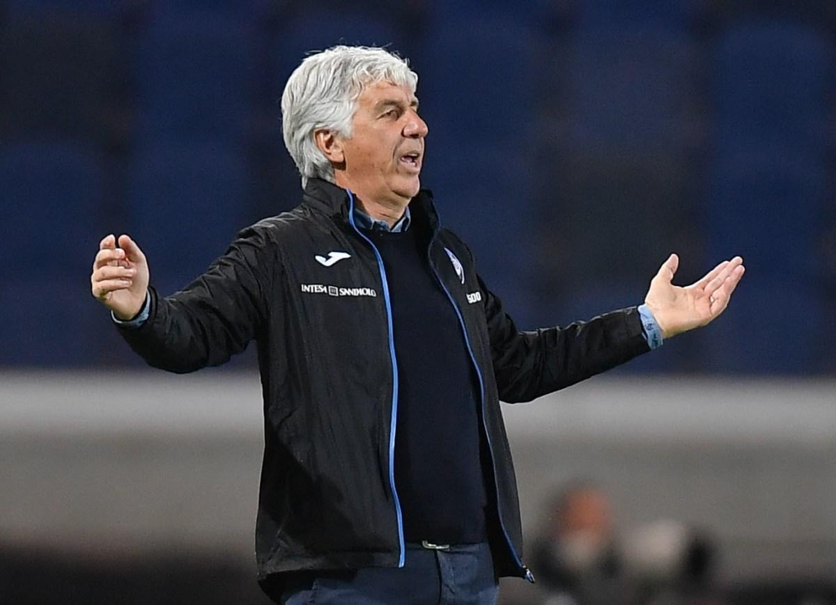 Gasperini, Atalanta coach