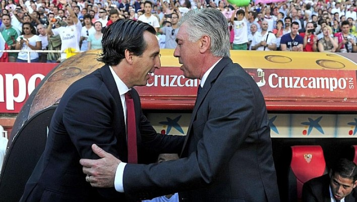 Image result for ancelotti emery