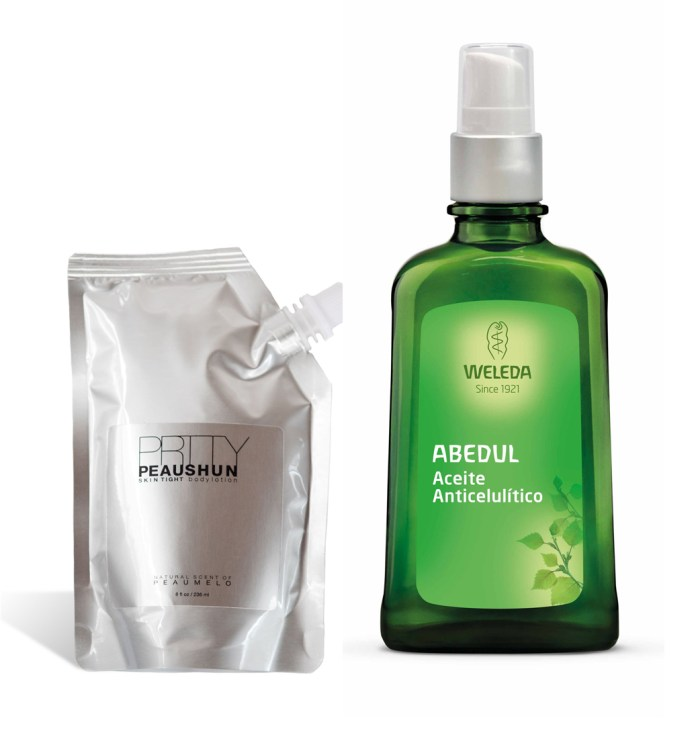 1. Cream colored SKIN tight Body Lotion from PRTTY PEAUSHUN. 2.Oil...