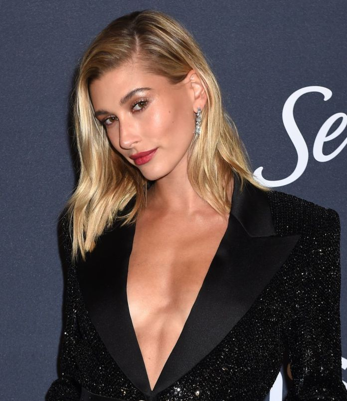 Hailey Baldwin gives in to the kindness of this s