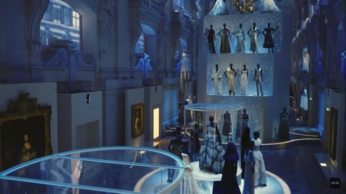 View of one of the halls of the Museum of the Decorative Arts, Pair