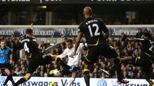 Tottenham 3 - 0 Bolton - Match Report & Highlights