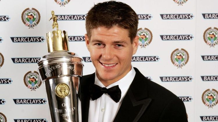 Image result for gerrard pfa player of the year