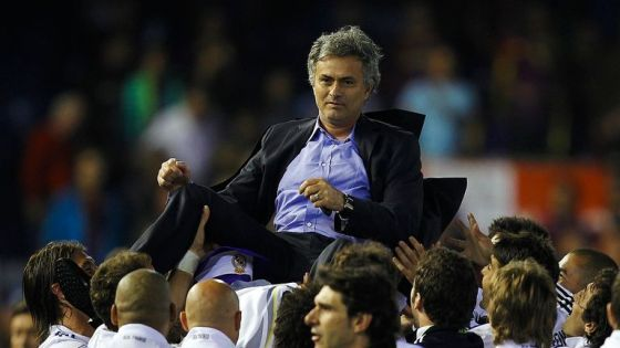 Mourinho enjoyed great success in charge of Real Madrid, including winning the La Liga title in 2013