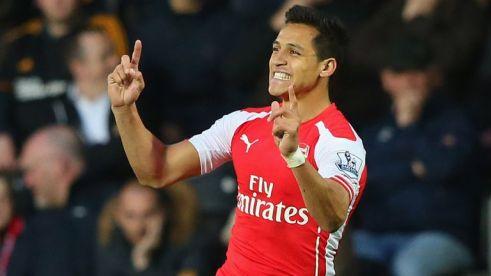 Alexis Sanchez: Won PFA Fans' Player of the Year