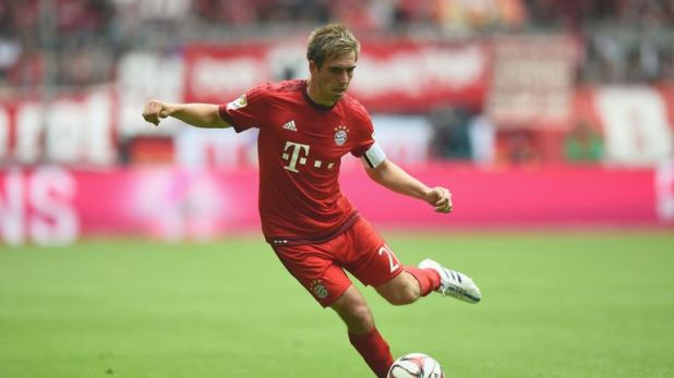 Philipp Lahm captained Germany to World Cup glory
