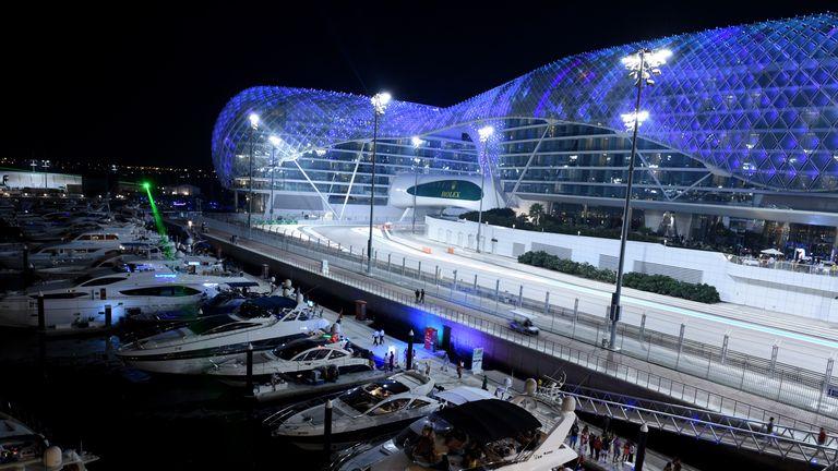 F1 Circuit Map Abu Dhabi Grand Prix 25 Nov 2018