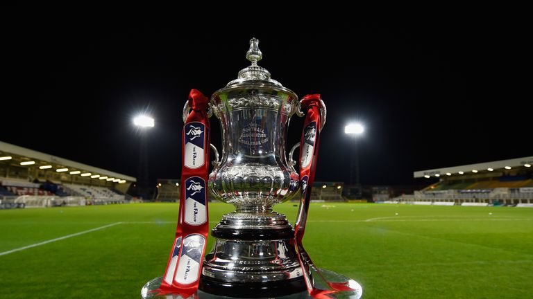 Image result for fa cup trophy