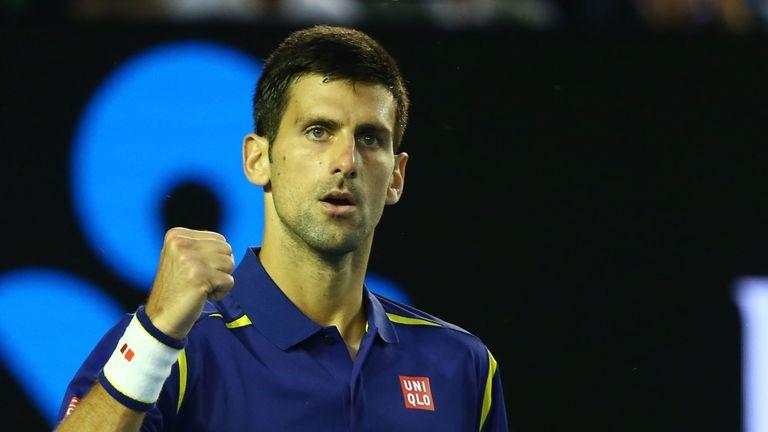 Novak Djokovic mencapai kelima akhir Grand Slam berturut-turut