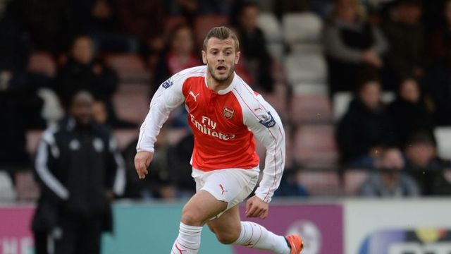 Wilshere made a scoring return for Arsenal's U21s on Monday, but suffered an injury scare in the first half