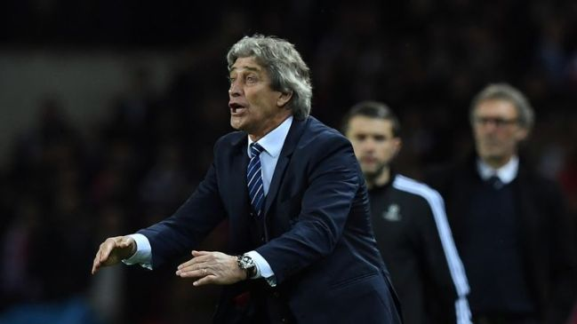 Pellegrini has urged his side to cut out the errors that are proving so costly