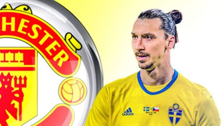 Zlatan Ibrahimovic will be reunited with Jose Mourinho at Manchester United