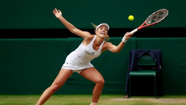 Angelique Kerber couldn't repeat her Australian Open win