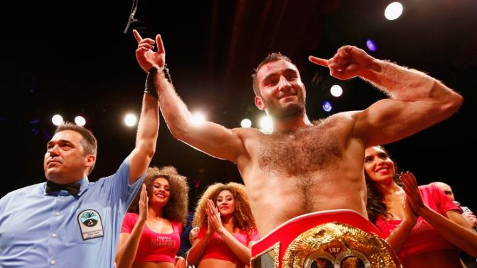 Murat Gassiev takes the IBF title into the second World Boxing Super Series semi