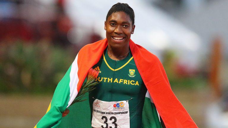Semenya won 800m gold at the 2012 and 2016 Olympic Games