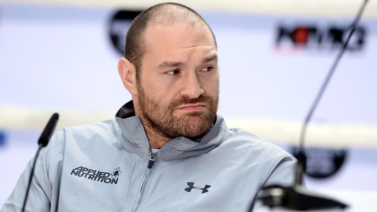 Tyson Fury withdrew from his rematch with Wladimir Klitschko