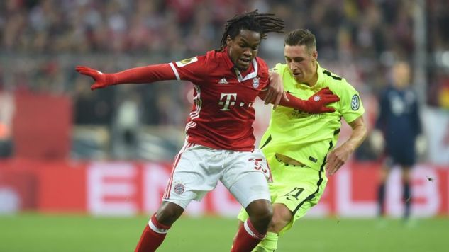 Renato Sanches has featured sparingly for Bayern Munich