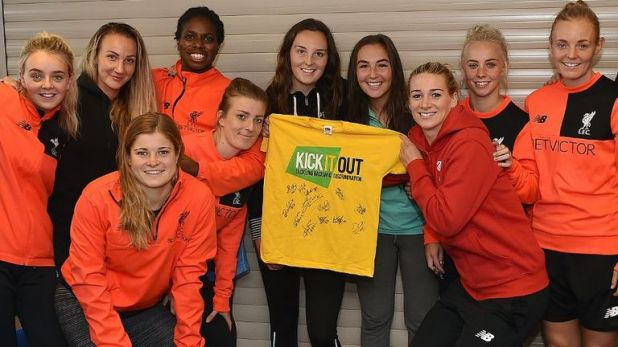 Kick it Out's work now extends to the women's game