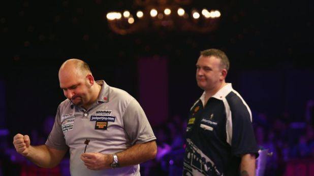 Waites beat the BDO no 2 Mark McGeeney a couple of years ago