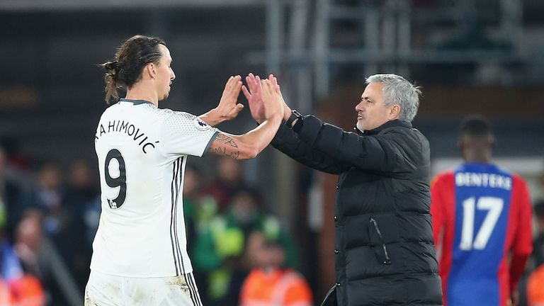 Ibrahimovic is pleased to be working with Jose Mourinho, the man he calls the 'perfect coach'