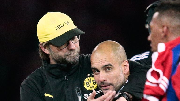 Guardiola has praised Jurgen Klopp