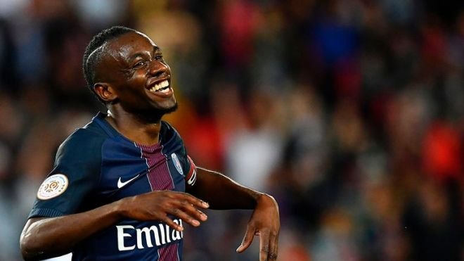 Paris Saint-Germain's French midfielder Blaise Matuidi is a Manchester United target, according to reports in France