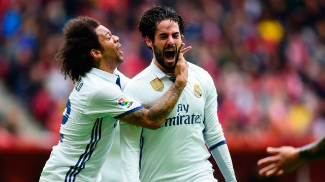 Image result for Marcelo and Isco
