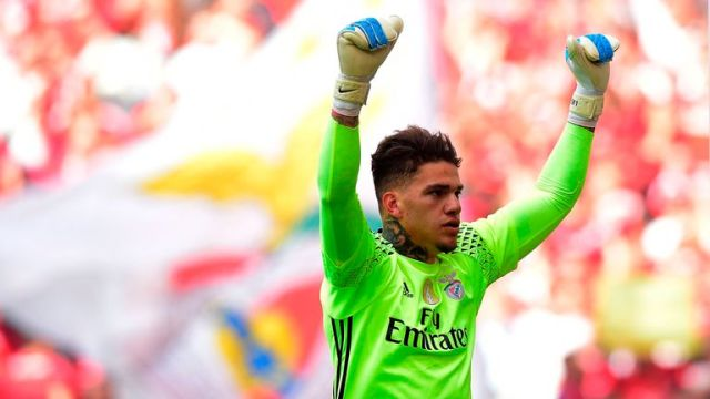 Ederson was Pep Guardiola's second signing of the summer for Manchester City