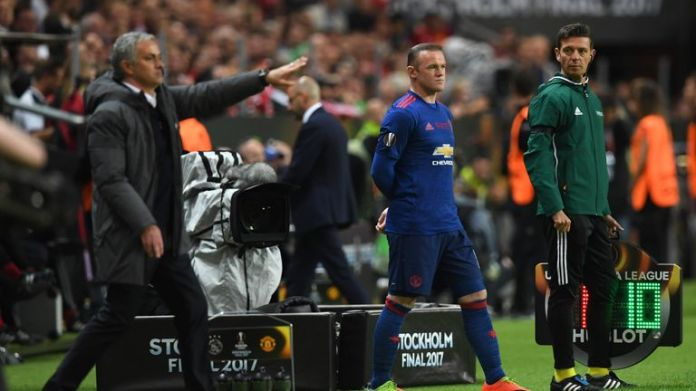 Rooney has been a regular on the substitutes' bench this season