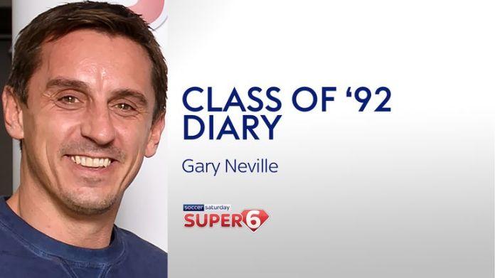 In der neuesten Super 6 Class von '92 Diary spricht Gary Neville über das Top-4-Rennen, die Form von Brendan Rodgers und Salford