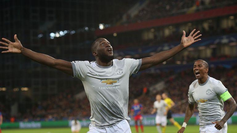 Lukaku ya ha marcado 10 goles con el United esta temporada