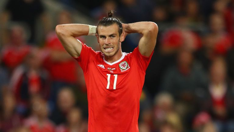 Gareth Bale has a calf muscle strain and will miss Wales' final Group D fixtures