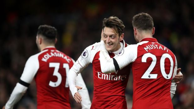 Mesut Ozil has been linked with a January move to United