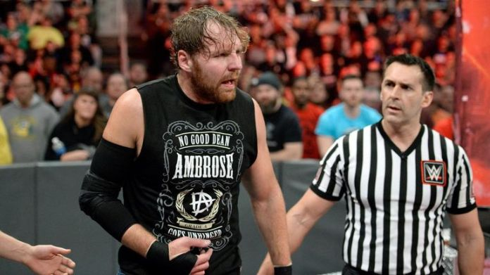 Dean Ambrose's arm injury was exacerbated by a backstage attack by Samoa Joe